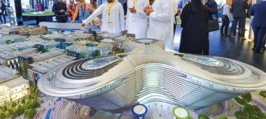Фото план павильонов выставки Экспо 2020, Дубай